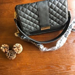 ❣️NWT❣️STEVEN MADDEN LEATHER BAG WITH 2 STRAPS
